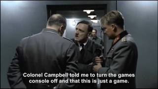 Hitler phones Colonel Campbell