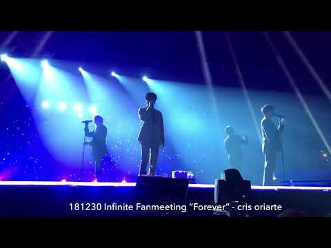 "‪181230 Infinite Fanmeeting ""Forever"" - ""Clock"" (New Song)"