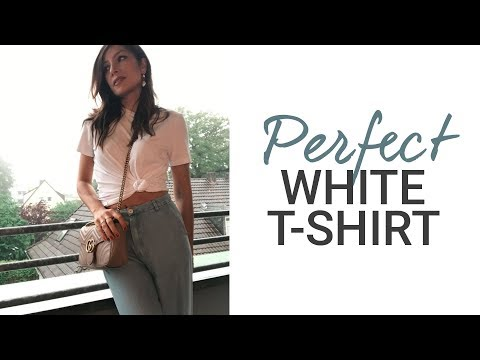 Which Brand Has the Perfect White T-Shirt? I Reviewed 5 Tees, Here's the Result | natashagibson
