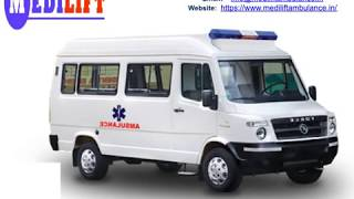 Medilift Ventilator Ambulance in Ranchi and Bokaro