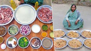 Mutton Biryani Cooking Recipe for Village Kids by Village Food Life