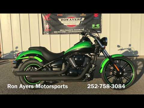 2018 Kawasaki Vulcan 900 Custom in Greenville, North Carolina - Video 1