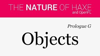 Prologue G - Objects