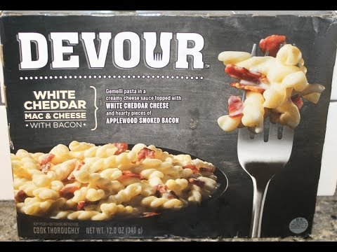 Devour: White Cheddar Mac & Cheese with Bacon Review