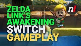Zelda: Link's Awakening Nintendo Switch Gameplay | E3 2019