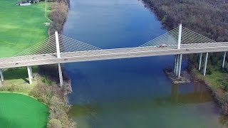 Bridges Over the James River - Dutch Gap, Va