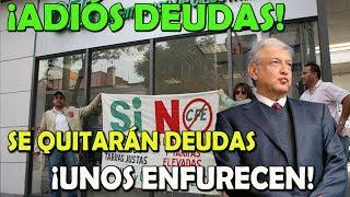 FURIOSOS con López Obrador, por perdonar deudas de la CFE - Campechaneando