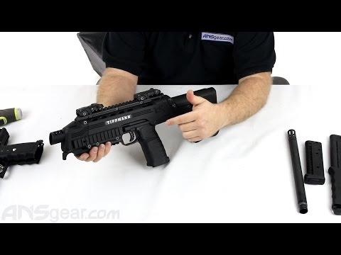 Tippmann Tactical Compact Rifle (TCR) Paintball Gun – Review