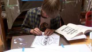 Making Stencils with Mike Shine | KQED Arts