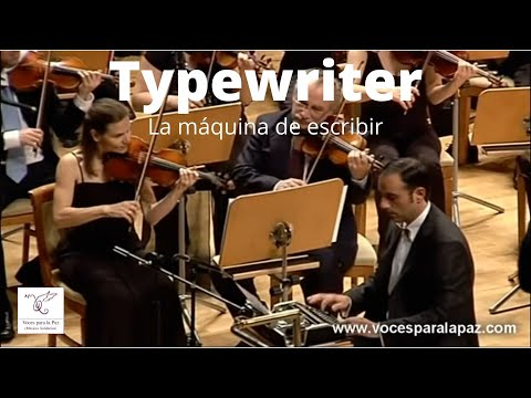 The Typewriter Makes A Fabulous Addition To Any Symphony Orchestra