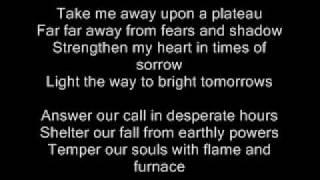 Take Me Away Globus (with Lyrics)