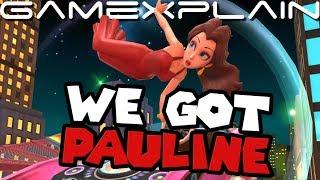 Mario Kart Tour - We Unlocked Pauline (1% Chance!) REACTION + Gameplay