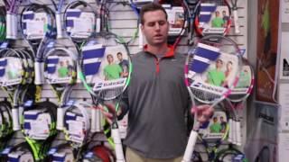 Ρακέτα τέννις Babolat Flow Lite video