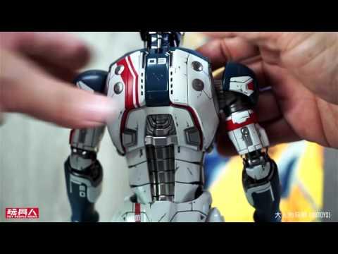 Hot Toys – MMS299 – 復仇者聯盟2:奧創紀元【鋼鐵大軍】1/6 比例 Iron Legion 開箱