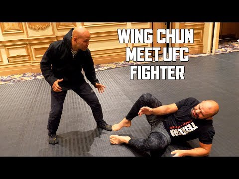 Wing Chun Master meet UFC Fighter | Master Wong