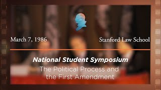 Click to play: Panel I: The Political Process and the First Amendment [Archive Collection]