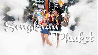 Songkran Water Festival Phuket Thailand