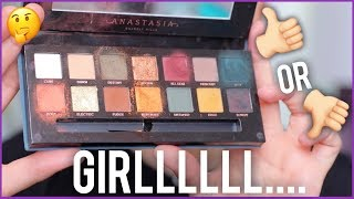 BRUTALLY HONEST REVIEW & DEMO OF ANASTASIA SUBCULTURE EYESHADOW PALETTE...