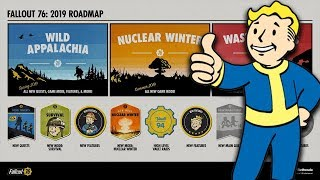 Fallout 76 2019 DLC ROAD MAP REVEALED! - Why I Am INTRIGUED!