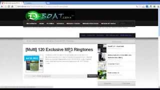 Download Multi 120 Exclusive MP3 Ringtones 2013 For Mobile FREE Full!
