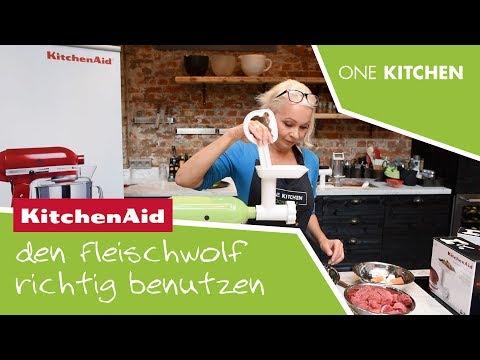 KitchenAid Fleischwolf   Teil 2: So wird der Fleischwolf benutzt   by One Kitchen