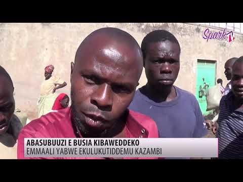 Abasuubuzi e Busia batabukidde omuyindi eyasumuludde kazambi