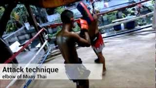 preview picture of video 'MuayThai training   Luk Barn Yai Gym@Huai Khwang'