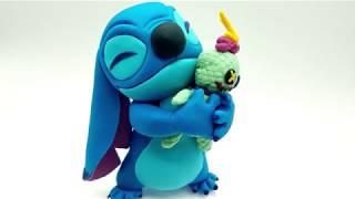 Stitch En Fondant. Caketopper