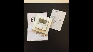 Unboxing HomeMatic Funk-Wandthermostat als ARR-Bausatz