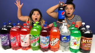 Don't Choose the Wrong Soda Slime Challenge
