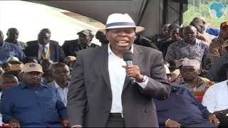 CS Wamalwa castigates politicians trying to break up the Luhya
