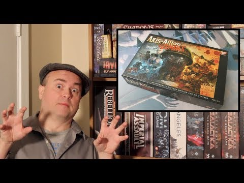 The Discriminating Gamer: Axis & Allies & Zombies
