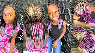 💕💜FESTIVE BRIADS FOR KIDS! 2020 Kids Braids Hairstyles: Cute Hairstyles For Little Girls This Week