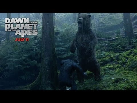 Dawn of the Planet of the Apes (TV Spot 'Bear Hunt')