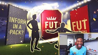OMG BACK TO BACK INFORMS IN A PACK! - 6 X 100K FUT CHAMPION PACKS - FIFA 18