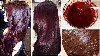 मेहंदी में सिर्फ ये मिलाके लागलो बालों का Colour हो जायेगा Burgundy हमेशा के लिए - 100% Naturally