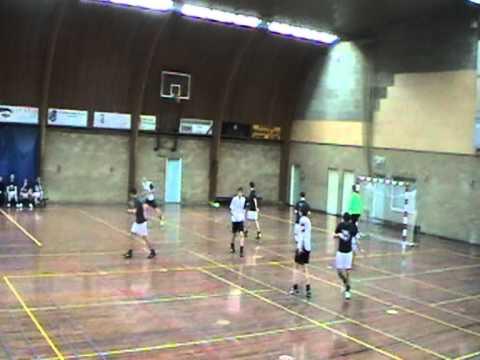 Zaalvoetbal - Cantina La Bamba / All 4 Fit tegen Cafe de Spijker