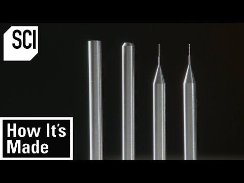 Making Ultra Thin Micro Drill Bits