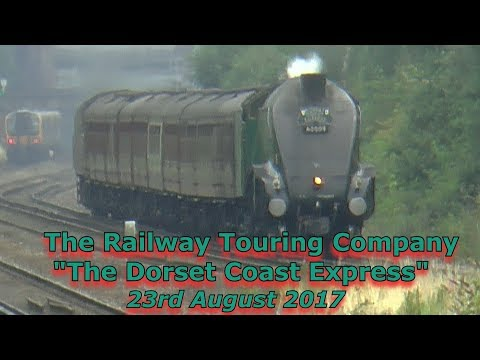 60009 'Union of South Africa' passes Hook with 'The Dorset C…