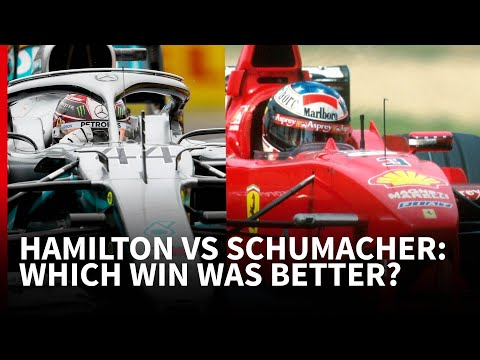 Hamilton 2019 vs Schumacher 1998: Which Hungary F1 charge was better?