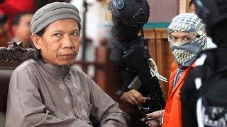 Aman Abdurrahman Tantang Majelis Hakim dan Tunjukkan Gestur yang Buat Hadirin Sidang Bertanya-tanya