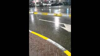 Hailstorm abu dhabi