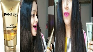 Pantene Oil Replacement Cream Review Can Oil Replacement Cream Can Make Hair Softer,stronger