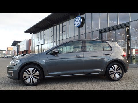 Volkswagen NEW e-Golf 2017 - 2018 Indium Grey metallic inside outside full walk around