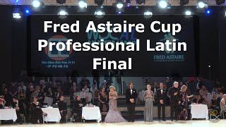 Fred Astaire Cup Professional Latin - Disney 2018 | Grand Final