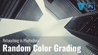 How To Get Easy Color Grades In A Simple Way - Retouching In Photoshop