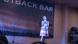 Brooke Thompson singing I'll get even with you
