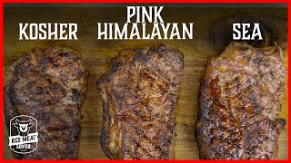 How to Season Steak Experiment - Which Salt is the BEST on Steak!?!?
