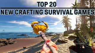 Top 20 Open World Survival Games PC - Craft, Build & Explore