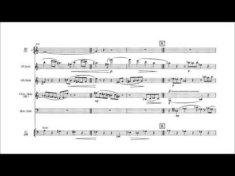 Paul Hindemith - Concerto for Woodwinds, Harp and Orchestra [With score]